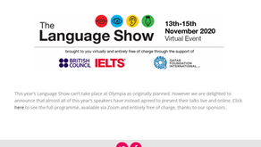 A weekend at The Language Show