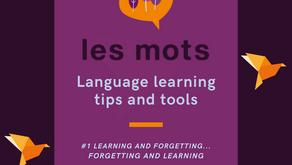 Learning and forgetting... Forgetting and learning