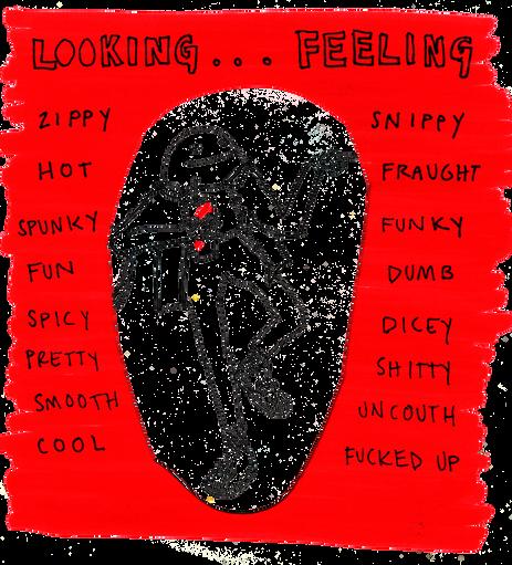looking feeling