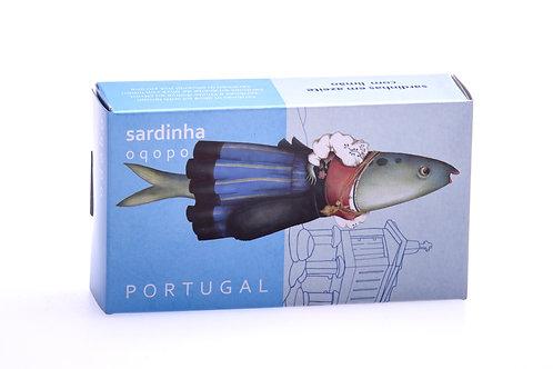 Sardinhas em Azeite com Limão Oqopo 120g