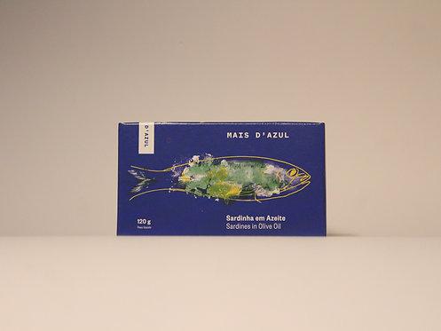 Sardinhas em Azeite Mais d'Azul 120g