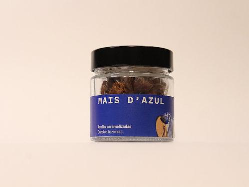 Avelãs Caramelizadas Frasco Mais d'Azul 75g