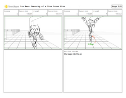 I've Been Dreaming Storyboard Pro Boards