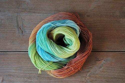 Rainbow Colors 2 メリノスーパーウォッシュ75% ナイロン25%
