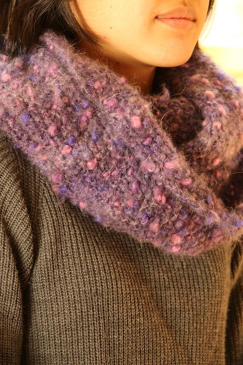 Purple Pink Bubbling Snood