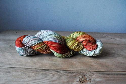 Rainbow Colors メリノスーパーウォッシュ75% ナイロン25%