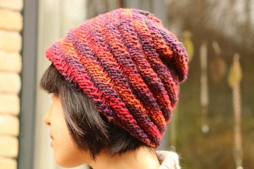 Spiral Orange Hat
