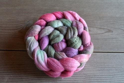 手染め羊毛ロービング100g エクストラファインメリノ19.5マイクロン r1105