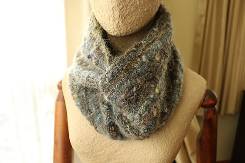 Basket Weave Snood Double Loop