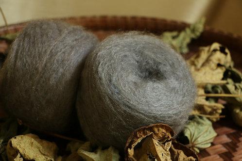 紫根 メリノシルクAl-2 紫根で染めたメリノシルクの毛糸
