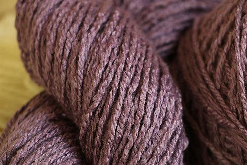 紫根 メリノシルクAl-1 紫根で染めたメリノシルクの毛糸
