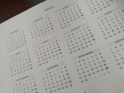 Dates des activités