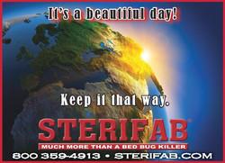 Sterifab Earth Day Ad