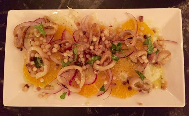 Sicilian Fennel and Orange Salad, Remedy Wine Bar Vermont