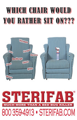 Sterifab poster chair Ad