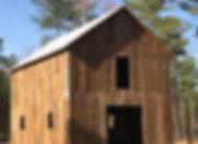 restored timber frame barn Georgia