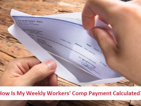How Do They Determine the Amount of My Weekly Workers Comp Check?