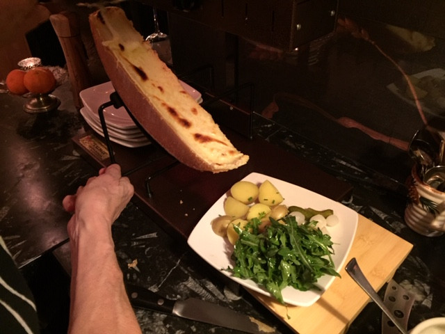 raclette cheese, remedy wine bar vermont