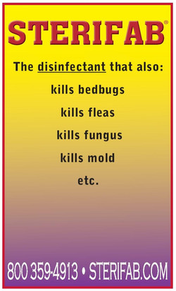 Sterifab Disinfectant Ad