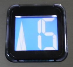 Display blu seriale 54 per 54