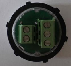 Vista retro pulsante da 30mm