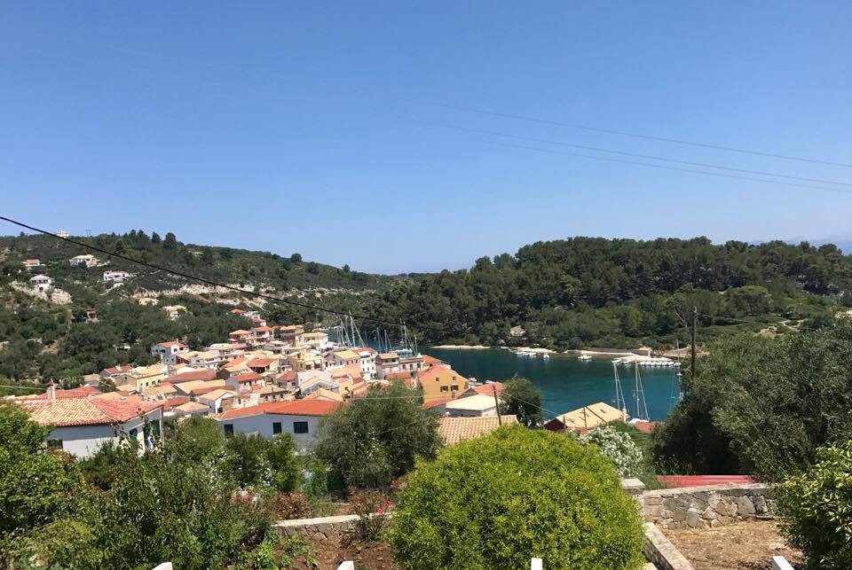 View to Gaios port