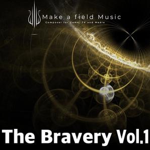 BGM素材集 The Bravery Vol.1をリリースしました。