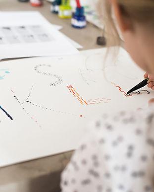 Kalligrafie-kinder-workshop-frea-retreat