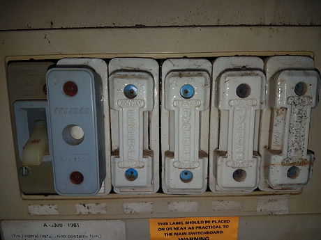 Fuses, Switch board