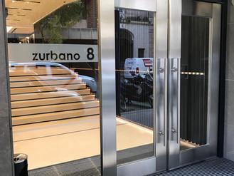 Reforma en la calle Zurbano