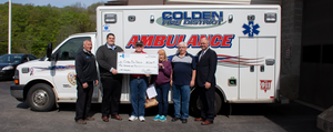 Colden FD receive their 2018 Safety Initiative Grant