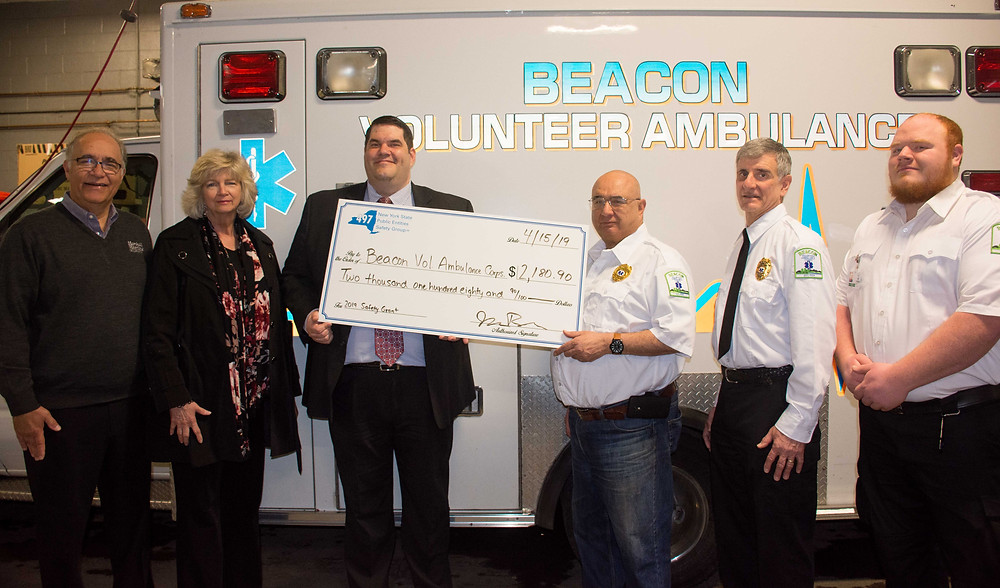 Beacon Volunteer Ambulance Receives their 2019 Safety Initiative Grant