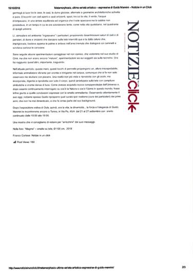 NOTIZIEinunCLICK 15/10/2018