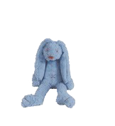 Tiny Deep Blue Rabbit Richie