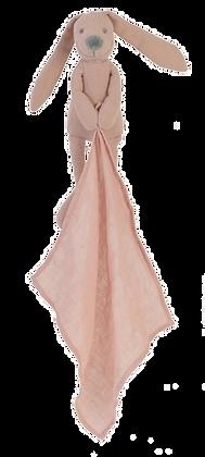 Pink Linen Rabbit Richie Doudou