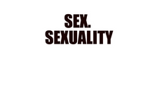 Sex. Sexuality. 2020