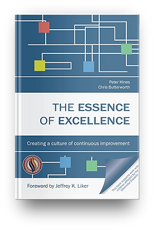 The Essence of Excellence Chris Butterworth and Peter Hines