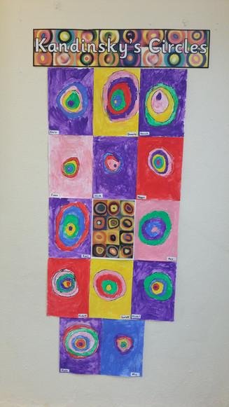 Kandinsky - Concentric Circles