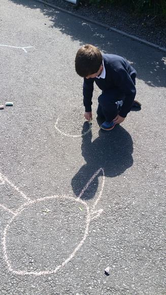 Chalk Art - Junior Infants