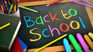 Back to School - 3rd September