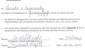 Anti-Bullying Review 2020