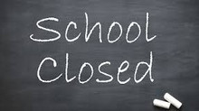 School Closed - 8th December