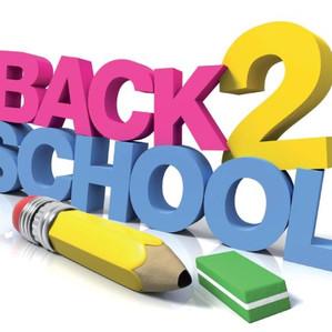 Back to School - Update