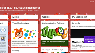 Padlet - Library of Resources