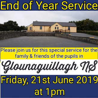 End of Year Service - Friday 21st June