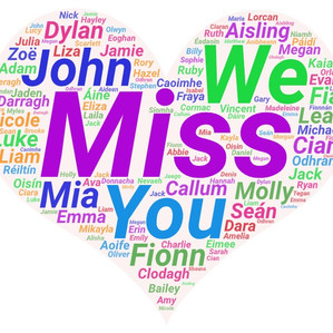 We miss you!