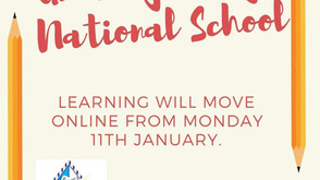 Remote Learning - Monday, January 11th onwards