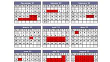 Calendar 2021 - 2022