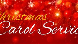 Carol Service  - Thursday 14th Dec.