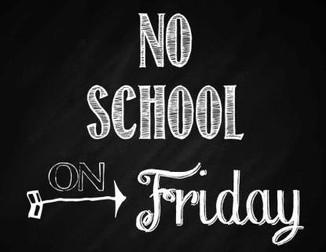 School Closed - Friday 8th Dec.